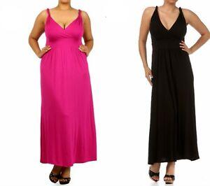 LD11-New-Womens-Cocktail-Wedding-Evening-Party-Long-Maxi-Summer-Beach-Plus-Dress