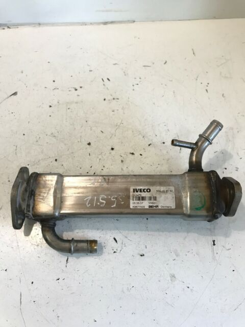 Iveco Daily 2.3 Hpi EGR Válvula Enfriador 504158592 Behr 2008 Año