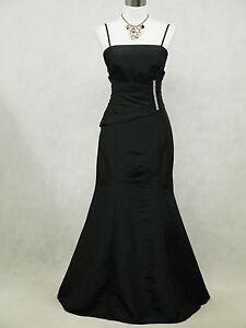 Cherlone Plus Size Black Ballgown Wedding Evening Bridesmaid Formal Dress 20