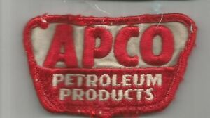 APCO-PETROLEUM-PRODUCTS-driver-advertising-patch-2-X-3-1-4-3353