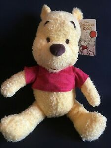 Disney-Winnie-The-Pooh-Soft-Plush-Toy-12-034-30cm-sitting-Brand-New-UK-Seller