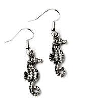 Seahorse Earrings - Wedding Accessories - Women's Jewelry - Handmade - Gift Box