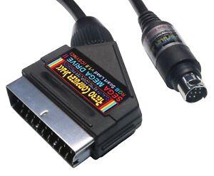 Sega Mega Drive 2 II High Quality RGB Scart TV Lead Video Cable.