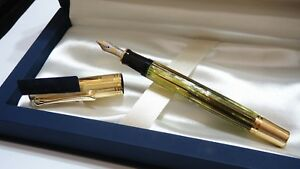 NOS-PELIKAN-SOUVERAN-M450-FOUNTAIN-PEN-18K-M-NIB-IN-ORIGINAL-BOX