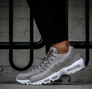 sports shoes a2daf 7af87 Mens Nike Air Max 95 Sneakers New, Cobblestone Gray 538416-005 sku ...