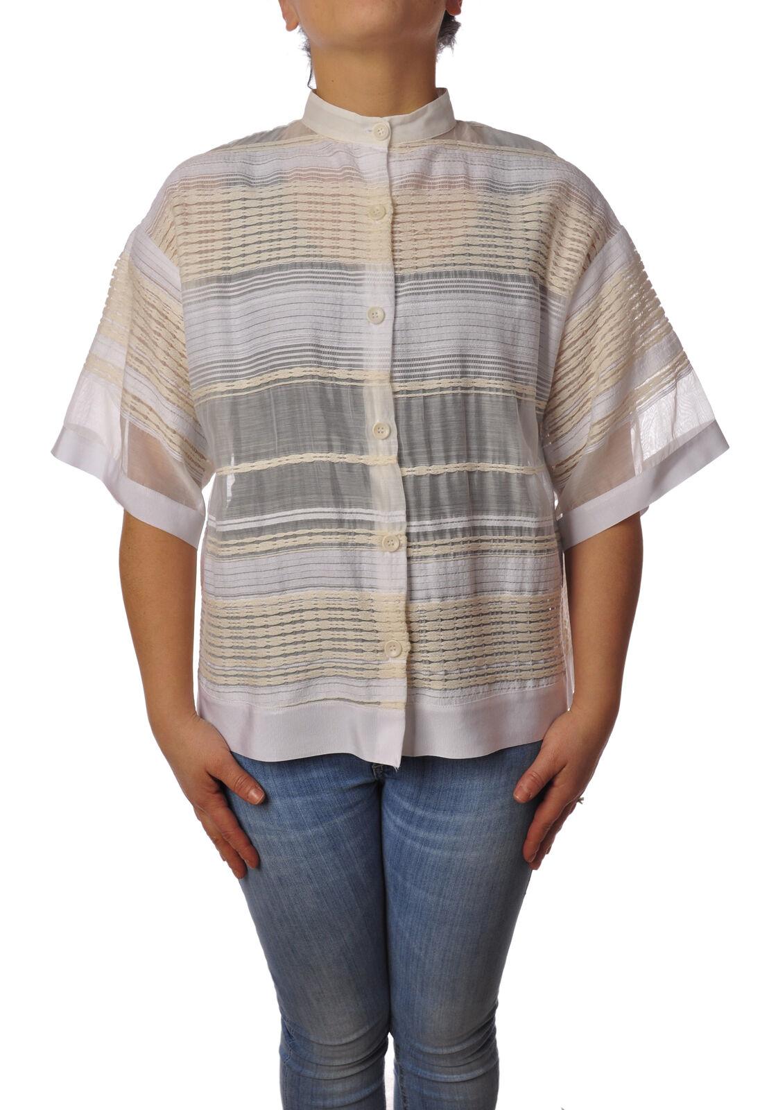 Garage Nouveau - Shirts-Shirt - Woman - Weiß - 4978327B181231