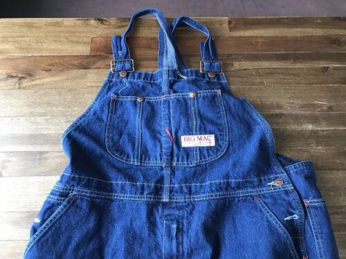 en Jeans Bleu Denim avec Big Workwear 44 Bleu Combinaison Homme Fermeture 28l Mac 18UUpA