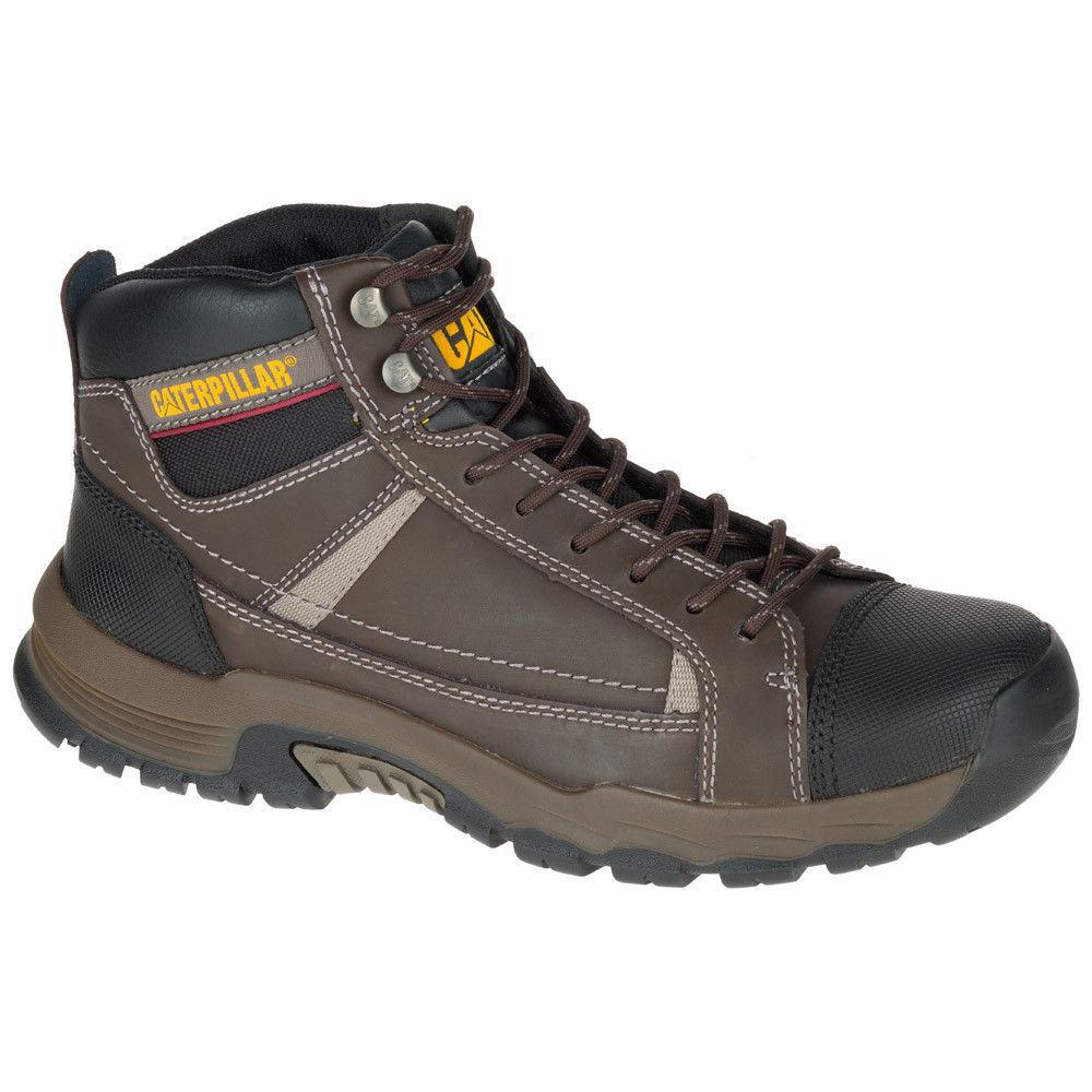 Caterpillar REGULATOR Mens Brown P74053 Soft Toe Slip Resistant Boots