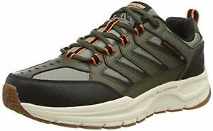 Oliveblack Us 2 Escape 0 Oxford Plan Skechers Men's 11 2e kuZiOPTlwX