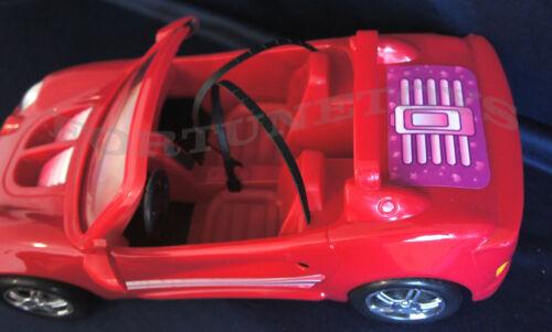 22010 NEW GLORIA DOLL HOUSE FURNITURE SUPER RED SPORT CAR