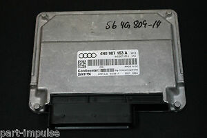 Audi a6 s6 a7 4 G c7 a8 4 H Dispositif de commande Derrière eventuelle Boîte de vitesses 4h0907163a