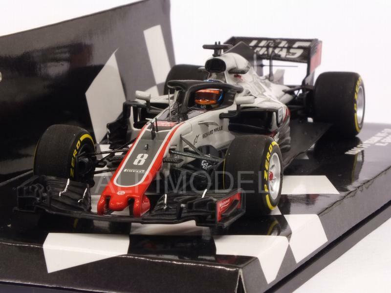 Haas VF-18 2018 Roman Grosjean HQ Resin 1 43 MINICHAMPS 417180008