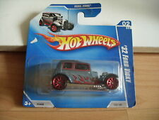 Hotwheels Rebel rides '32 Ford Vicky in Blue on Blister