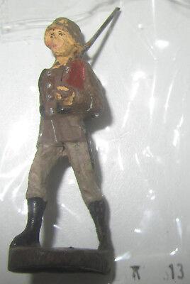 Affidabile Elastolin Soldato Tedesco Seconda Guerra Mondiale Ww2 Soldatini In Pasta 13