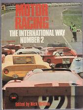 MOTOR RACING THE INTERNATIONAL WAY : NUMBER 2 - NICK BRITTAN  1971   ae