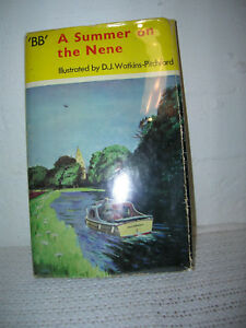 A-Summer-On-The-Nene-By-034-BB-034-Illus-by-D-J-Watkins-Pitchford-1st-Printing-HC-DJ