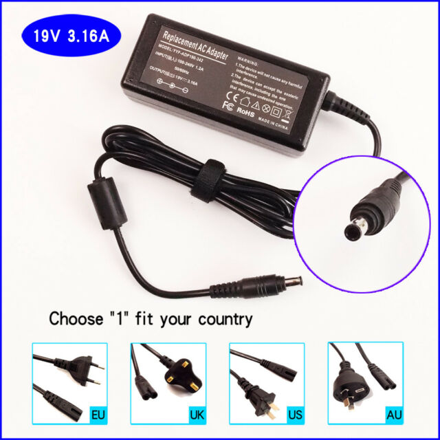 Laptop AC Power Adapter Charger for Samsung NP300E4C-A03US NP300E5A-A02UB