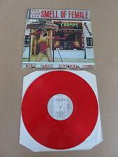 THE CRAMPS Smell Of Female BIG BEAT LP RARE UK 1984 ORIGINAL RED VINYL PRESSING