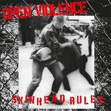 OPEN VIOLENCE – SKINHEAD RULE MCD punk oi! combat 84 4 skins