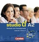 Studio D in Teilbanden: CD A2 (1) (Einheit 7-12) by Cornelsen Verlag GmbH & Co (Mixed media product, 2008)