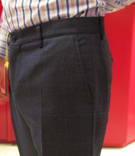 Blu Pettinata E 30 Uomo Celeste Quadri Pantalone Del Lana Scontato Etro 7FXPP