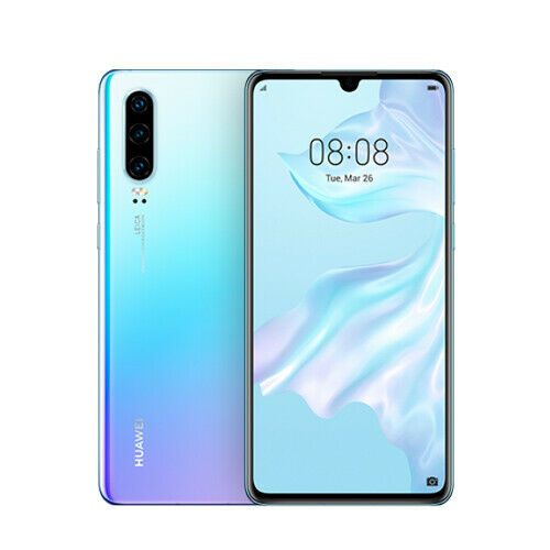 Huawei P30 ELE-L29 Dual 8GB RAM 128GB Breathing Crystal Ship from EU Nuevo