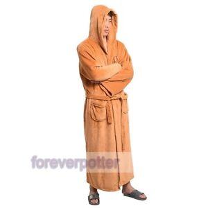 New-Mens-Star-Wars-Jedi-Knight-Adult-Warm-Bathrobe-Gown-Homewear-Sleepwear-Gifts