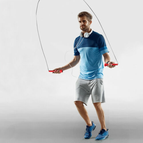 Skipping Jumpin Rope 3m 10ft Adjustable Fitness Speed Rope Jump Boxing Exercise