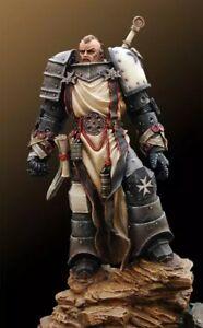 1-24-Resin-Figure-Model-Kit-Warrior-Knight-Templar-Unassambled-Unpainted