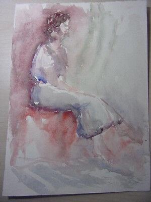 7. Aquarelle Originale (fond D'artiste Vershaeve) Verschillende Stijlen