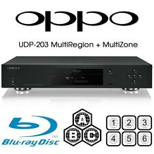 New OPPO DIGITAL UDP-203 MULTI REGION CODE FREE 4K ULTRA HD UHD BLU-RAY PLAYER