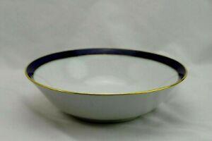 Bareuther-Waldsassen-Bavaria-Echt-Cobalt-Round-Vegetable-Bowl