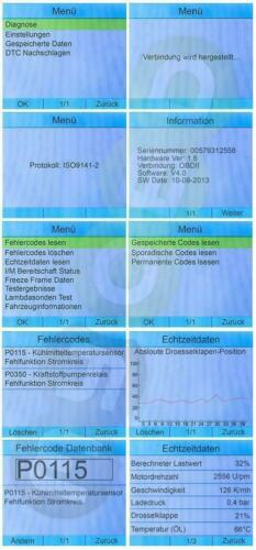 iCarsoft i910 DEUTSCH Diagnose Für BMW E36 E39 E46 E60 E63 E65 E90 E65 R50 ..