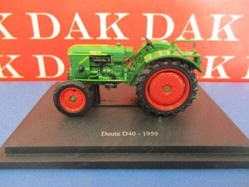 Die cast 1/43 Modellino Trattore Farm Tractor Deutz D40 1959
