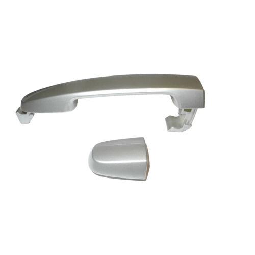 02-06 For Camry Lunar Mist Metallic 1C8 W//O Keyhole Outside Door Handle Rear