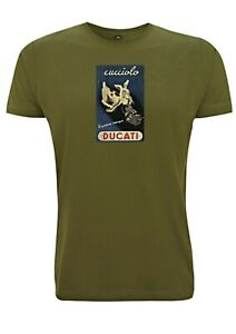 Ducati-Cucciolo-Vintage-Sign-T-Shirt-Inspired-French-Poster-Stylised-Retro-Image