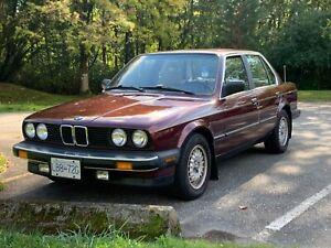 1987 BMW Série 3 325i E30