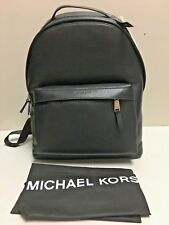 7eeb399db364 Michael Kors Black Backpack Men 100 Auth Bag Leather Classic Style ...