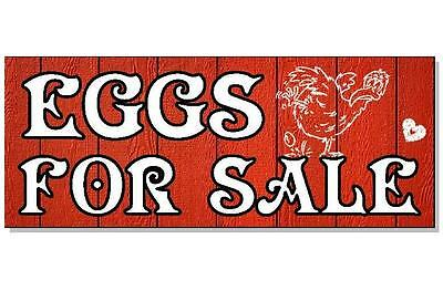 EGGS FOR SALE SIGN Plaque chicken hen poultry egg carton boxes coop house run