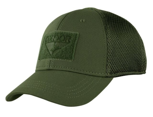 fd5e21f5cac121 Condor 161140 Tactical Flex Mesh Fit Military Combat Fitted Baseball Cap Hat  OD Green L/xl for sale online | eBay