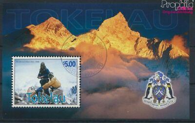 Beliebte Marke Tokelau Block39 kompl.ausg. 9294017 GroßE Auswahl; Gestempelt 2008 Edmund Hillary