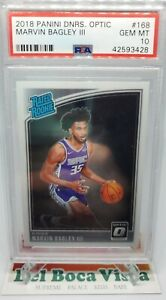 2018-19-PANINI-DONRUSS-OPTIC-RATED-ROOKIE-MARVIN-BAGLEY-III-168-PSA-10-KINGS
