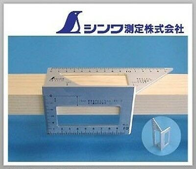 JAPAN SHINWA Square Layout Miter 45 + 90 Degrees équerre Winkel  169 x 63 x 73mm