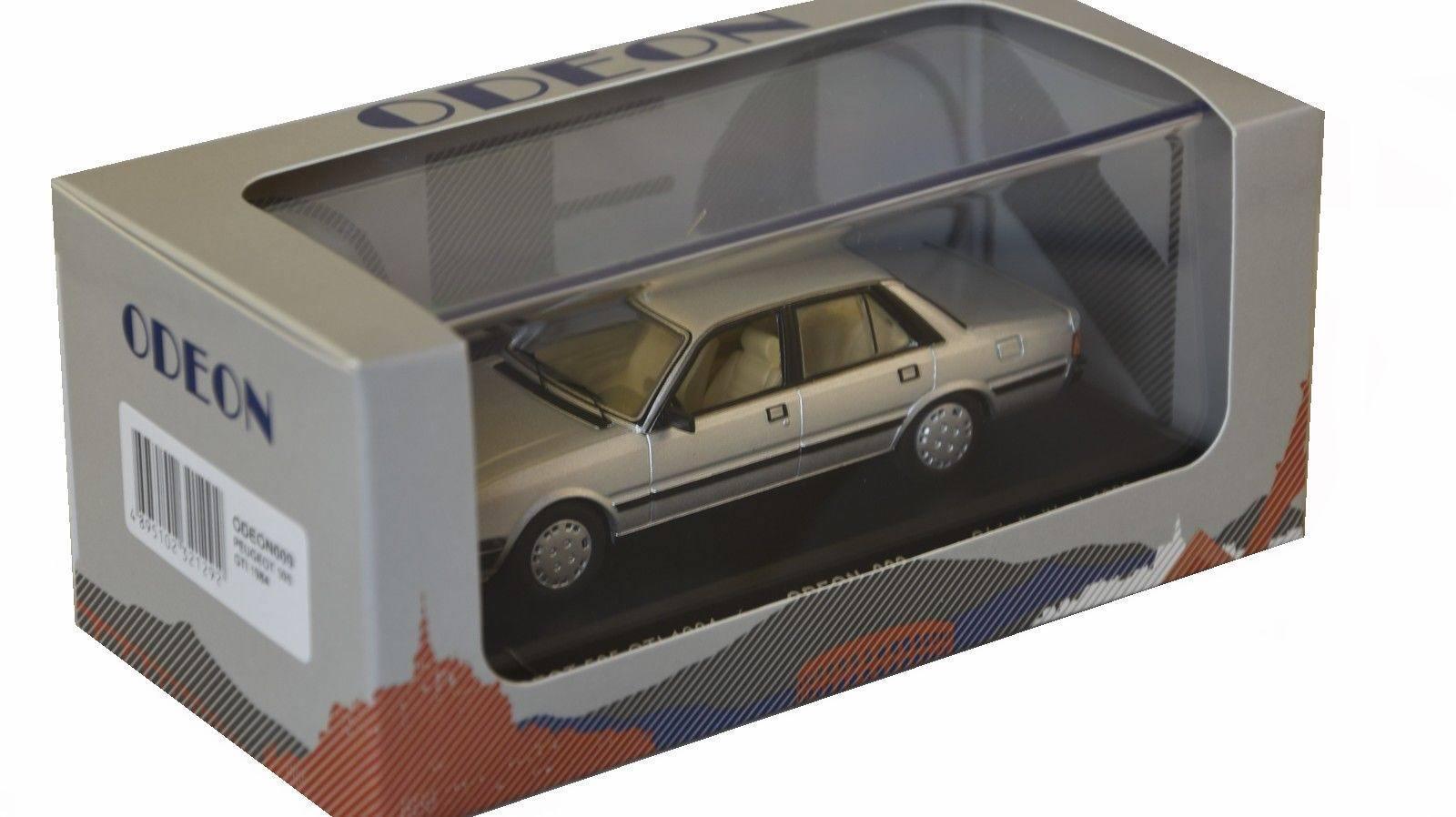Auto PEUGEOT 505 Die GTI 1984 ODEON 1 1 1 43 Limitierte Auflage 1000 Stk.  | Elegant Und Würdevoll  6c3f38