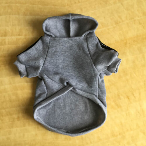 Pet Dog Cat Hoody Sweater Hoodie Coat Puppy Casual Shirt Jacket Clothes Apparel#