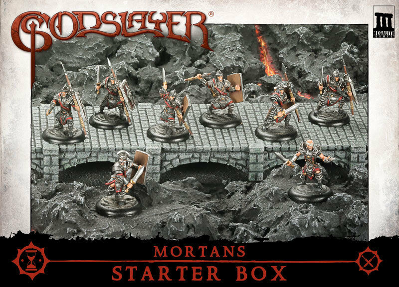 MG0300 - FANTASY - MEGALITH - GODSLAYER - MORTANS STARTER BOX - F