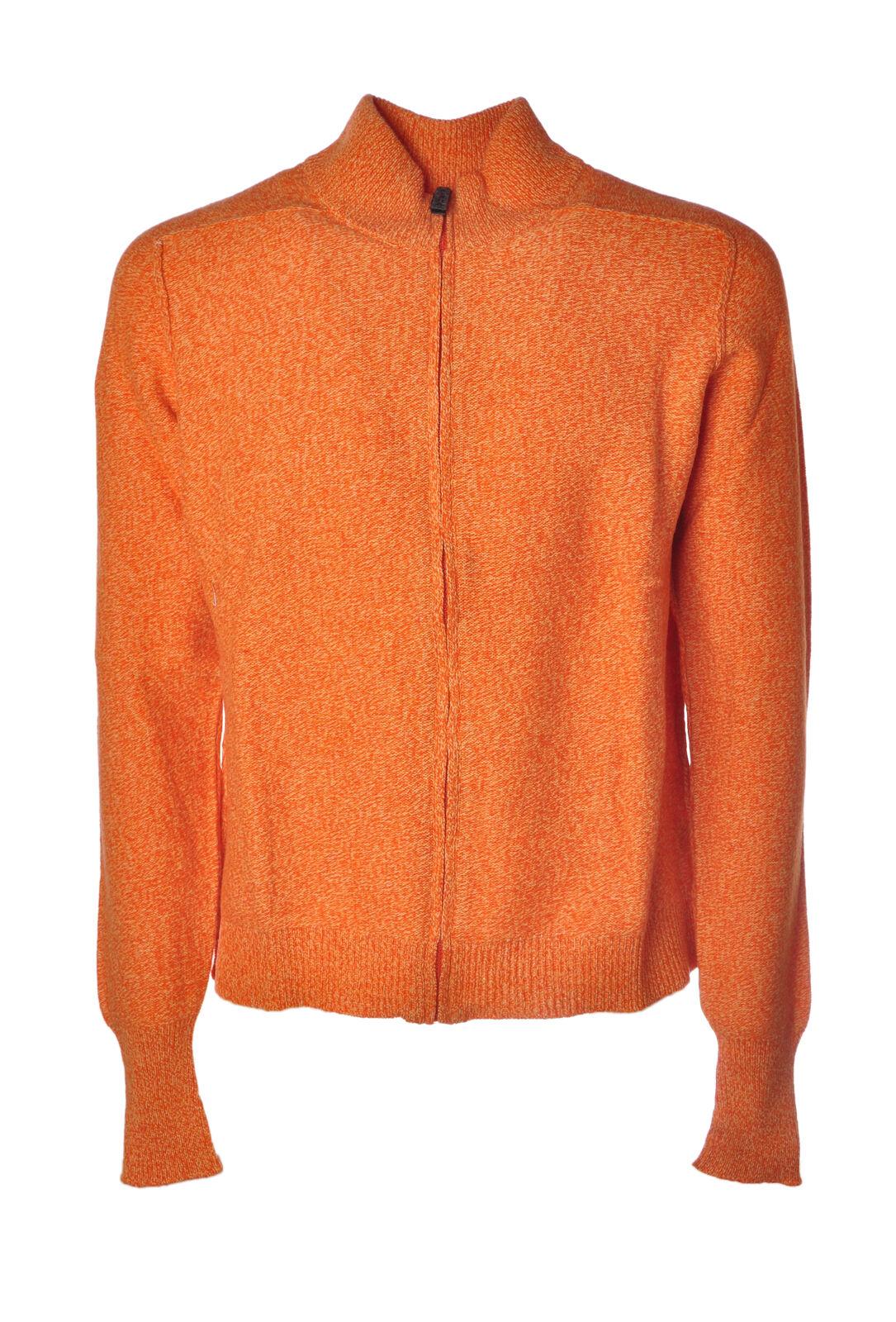 Alpha  -  Sweaters - Male - orange - 4560923A183942
