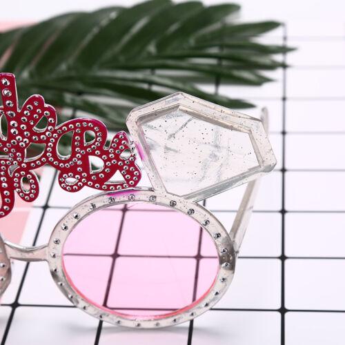 1pcs Kawaii wedding party hen party accessories supplies team bride glasses dDS
