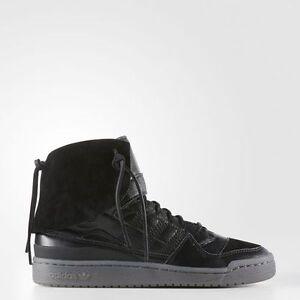 a24dbaf4992574 adidas Originals Forum Hi Moc B27670 Chalk Black Clay NEW Men s US ...