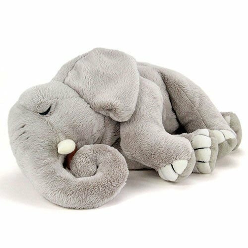 Sleeping Elephant Plush Stuffed Animal  COLORATA